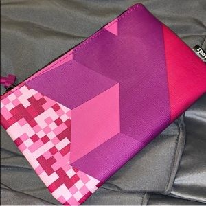 🆕 Ipsy TETRIS empty zippered cosmetic bag